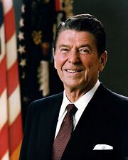 Portrait of President Ronald Reagan 1983 - New 8x10 Photo