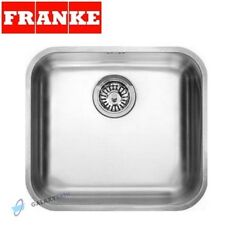 FRANKE GAX 110-45 GALASSIA 1.0 BOWL UNDERMOUNT KITCHEN SINK STAINLESS STEEL