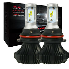 9007 Hb5 Led Headlight Bulbs High Low Beam Car Light White 9000Lm For Ford(Fits: Neon)