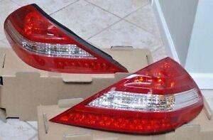 Mercedes-Benz OEM 2007-2012 SL Class R230 Taillights Fits 2003-2006 Plug & Play