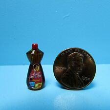 Dollhouse Miniature Detailed Replica Popular Original Syrup Bottle HR54336