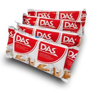 DAS Air Drying Modelling Clay 150g White
