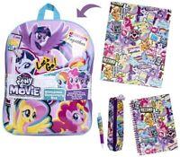 My Little Pony Backpack Stationery Set, Stationery Filled Back Pack School Bag