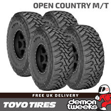 4 x Toyo Open Country M/T Off Road / Mud / Snow 4x4 Tyres - 225 75 R16 115P
