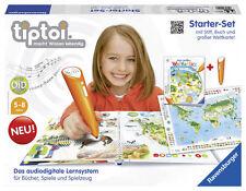 RAVENSBURGER tiptoi® Starter Set Weltkarte & Weltatlas m. Stift 5-8 J. mit OVP