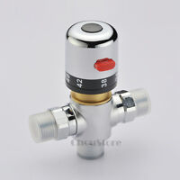 Bathroom Thermostatic Mixer Valve Bidet Spray Water Mixing Shower Faucet Tap A57