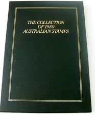 1989 AUST POST EXECUTIVE YEAR BOOK WITH MUH STAMP FV $38.40