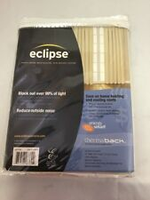 Block Out Curtain 99% Eclipse One Braxton Panel Thermaback Light Khaki New
