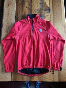 Castelli Gore Windstopper Winter Cycling Jacket Red Men's XXL