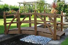 9ft Heritage wood garden or pond bridge Bridge