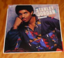 Stanley Jordan Standards Poster Flat 2-Sided Square Promo 12x12 Jazz