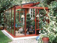 Veranda in Alluminio e Vetro Ortensia, Copertura Terrazzo, Giardino, Serra
