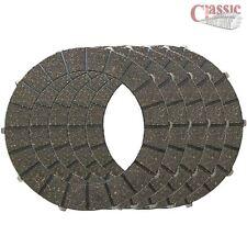BSA B25 B50 CLUTCH PLATES Set of 5 Plates 40-3233