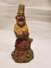 Tom Clark Gnomes - Thimble Family - Yarn  Figurine - 1992