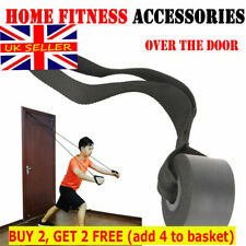 Household Fitness Resistance Bands Over Door Anchor Elastic Bands Accessory UK