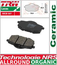 Jeu 2 Plaquettes de frein Avant TRW Lucas MCB587  Yamaha XV 535 Virago 1988-1994