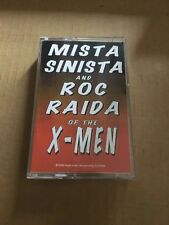 DJ Roc Raida & Mista Sinista The X-Men LESSON 1 NYC Cassette Hip Hop Mixtape 90s