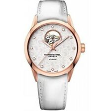 Raymond Weil White & Rose Gold Freelancer Ladies Watch 2750PC530081