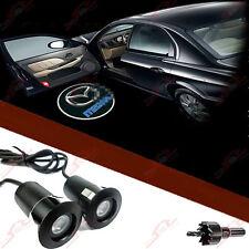 2x Tür Shadow Laser Licht Projektor LED Logo Einstiegsbeleuchtung Für Alle MAZDA