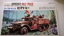 BLUETANK 1:35 KIT DI MONTAGGIO PLASTICA U.S. ARMY ARMORED HALF TRACK ART TK-9005