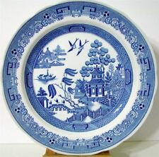 """Spode Blue Room Collection Willow Dinner Plate 10 1/2"""" Made in England"""