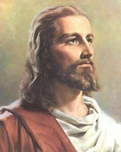 JESUS CHRIST 8X10  ART PRINT