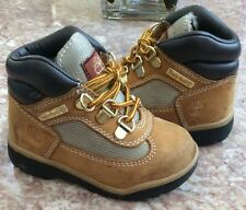 Timberland Baby Toddler Wheat Waterproof Hiking Field Boots Size 7 #15845 3930