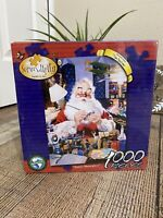 Santa's Masterpieces Jigsaw Puzzle, 1000 pieces, Serendipity Puzzle Col, NEW