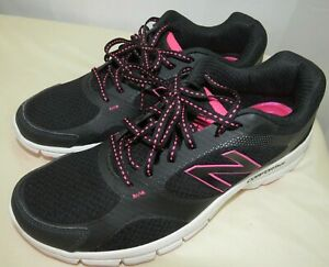 New Balance 543 Woman's Comfort Ride Running Shoes Black/Pink WE543BB1 Size 10 B