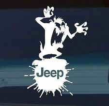 Jeep wrangler cherokee DECAL window sticker