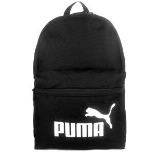 PUMA  PHASE MINI - Black /White  School Gym Travel Sports Backpack Bag AU stock