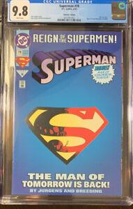 Superman # 78 CGC 9.8 June 1993 - DC Comics - (die-cut cover) Collectors