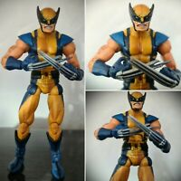 2006 MARVEL LEGENDS APOCALYPSE BAF SERIES WOLVERINE TOY BIZ ACTION FIGURE X-MEN