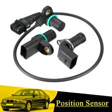Intake & Exhaust Cam Camshaft & Crankshaft Position Sensor With O-R For BMW USA