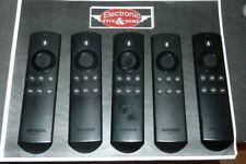 "Gen 2 DR49WK B For Amazon Alexa Voice Fire TV Stick Box Remote Control   ""5pcs"""