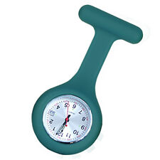 Nurse Silicone FOB Watch with Date Function - Teal