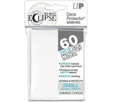 60 ULTRA PRO DECK PROTECTOR SMALL PRO-MATTE ECLIPSE WHITE SLEEVES - IN STOCK!