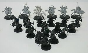 Lord of the Rings Warhammer 23x Army Figures Early 00's | Games Workshop