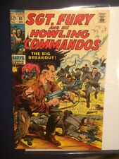 Sgt. Fury & His Howling Commandos #61 VG 1968 Dick Ayers & J. Severin art.