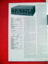 """Sony TA-F700ES, Acoustic Research TSW-410 test reviews """"High Fidelity"""" 7/87"""