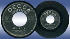 Philippines BILL HALEY It's A Sin 45 rpm Record