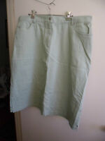NEW AERO BRAND GREEN WOMENS SKIRT SIZE 18