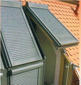 Kurbel-Rolladen für Velux Dachfenster Gr. 206,F06,FK-06 GGU,GPL,GGl usw.