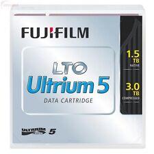 FUJI LTO5 16008030 ULTRIUM 1.5TB/3.0TB TAPES FUJI WARRANTY LTO-5  10 PACK NEW