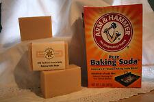 Homemade/Handmade Soap - Baking Soda - Unscented All-Purpose