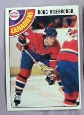 1978-79 TOPPS DOUG RISEBROUGH MONTREAL CANADIENS #249 Hockey CarD LOT OF 2 NM-MT