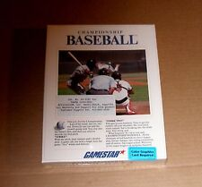 Championship Baseball by Gamestar for the Tandy / IBM PC - NEW