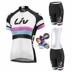 2020 Summer LIV woman Cycling Jersey Set MTB Road Bicycle Clothing Breathable