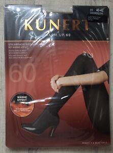 Kunert Warm Up 60 Tights Opaque Matt With Heat Effect Cashmere 40 - 42 Ladies