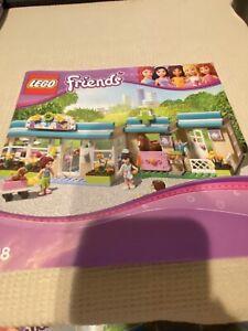 "LEGO  3188 FRIENDS  ""HEARTLAKE VET""  Building Manual"